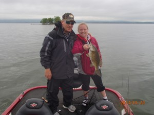 Niki's smallmouth . May winners of free guide trip